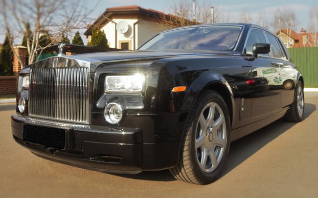 Аренда Rolls Royce Phantom на свадьбу Киев