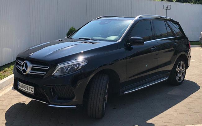 Аренда Mercedes GLE на свадьбу Київ
