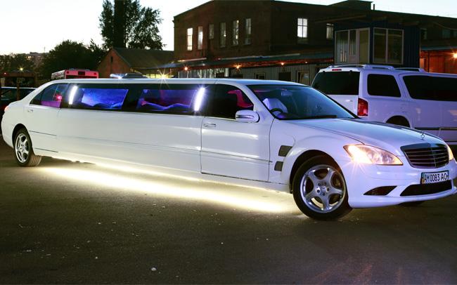 Аренда Лимузин Mercedes S-Class W221 на свадьбу Киев