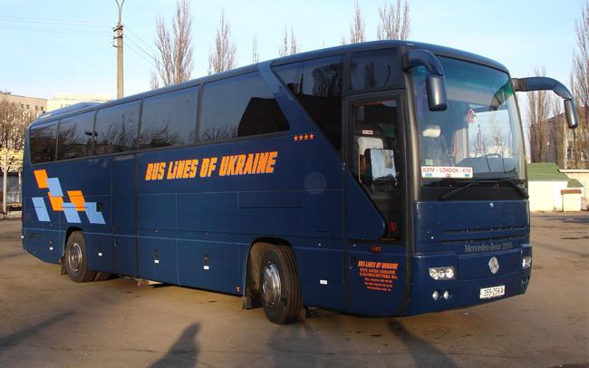Аренда Автобус Mercedes 0350 SHD на свадьбу Киев