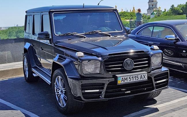 Mercedes G-Class Mansory