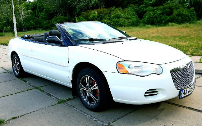 Кабриолет Chrysler Sebring Convertible