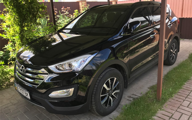 Аренда Hyundai Santa Fe New на свадьбу Киев