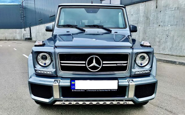 Аренда Mercedes G 63 AMG на свадьбу Киев