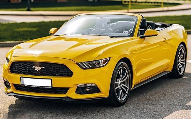 Аренда Кабриолет Ford Mustang GT New на свадьбу Киев