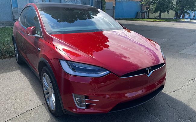 Аренда Tesla Model X на свадьбу Киев